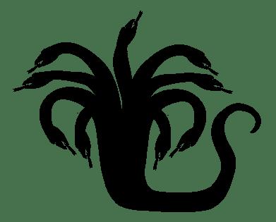 hydra-silhouette-vector-clipart