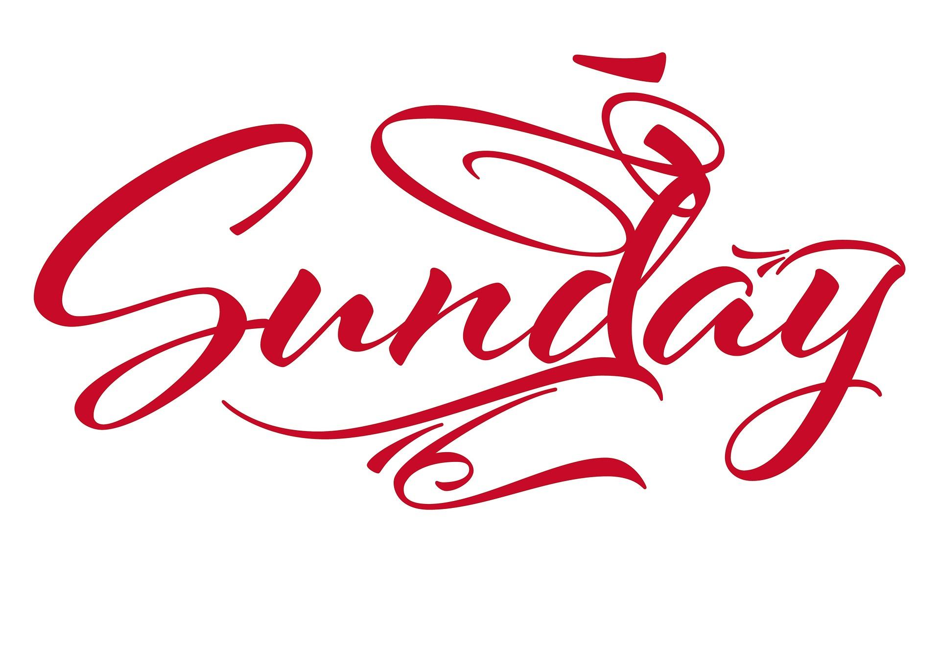 sunday-1084365_1920